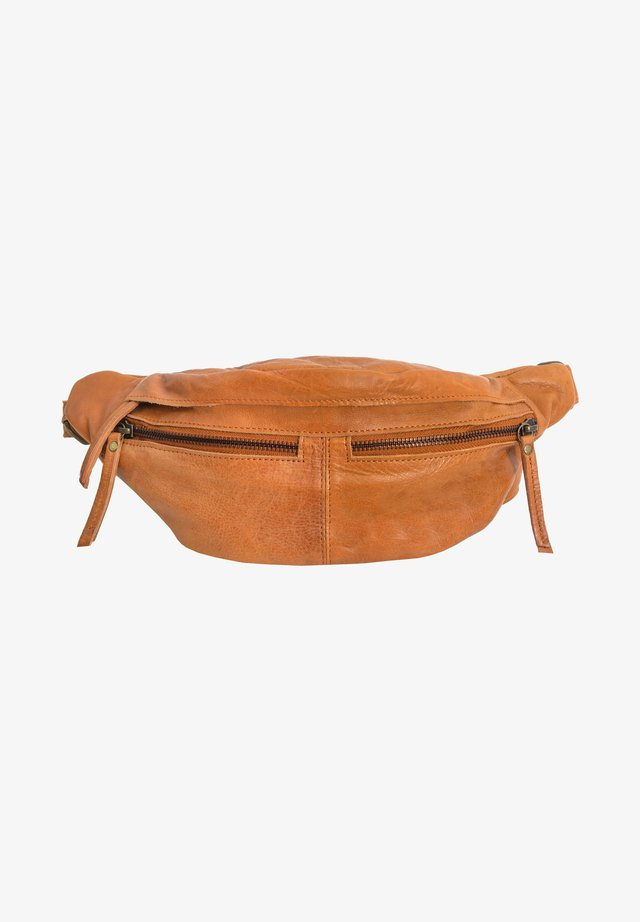 ACTON - Bum bag - cognac