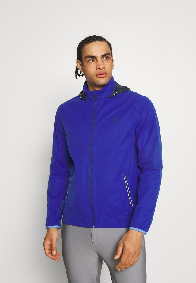 HOOD ANORAK JACKET - Vodotěsná bunda - royal blue