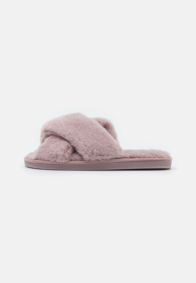 WIDE FIT SHERWOOD - Ciabattine - dusty pink