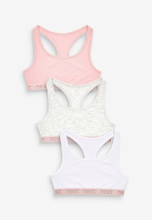 3 PACK RACER BACK CROP - Korzet - multi-coloured