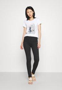 Patrizia Pepe - PANTS - Jeans Skinny Fit - black wash - 1
