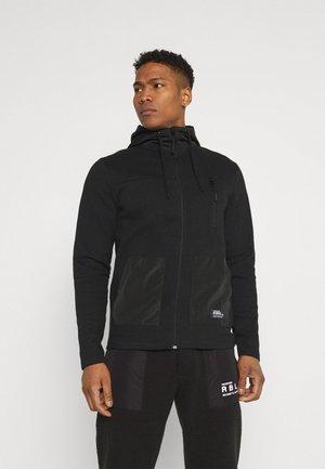 RREMERI  - Zip-up hoodie - black