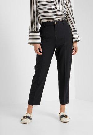 BORREM PANT - Trousers - black
