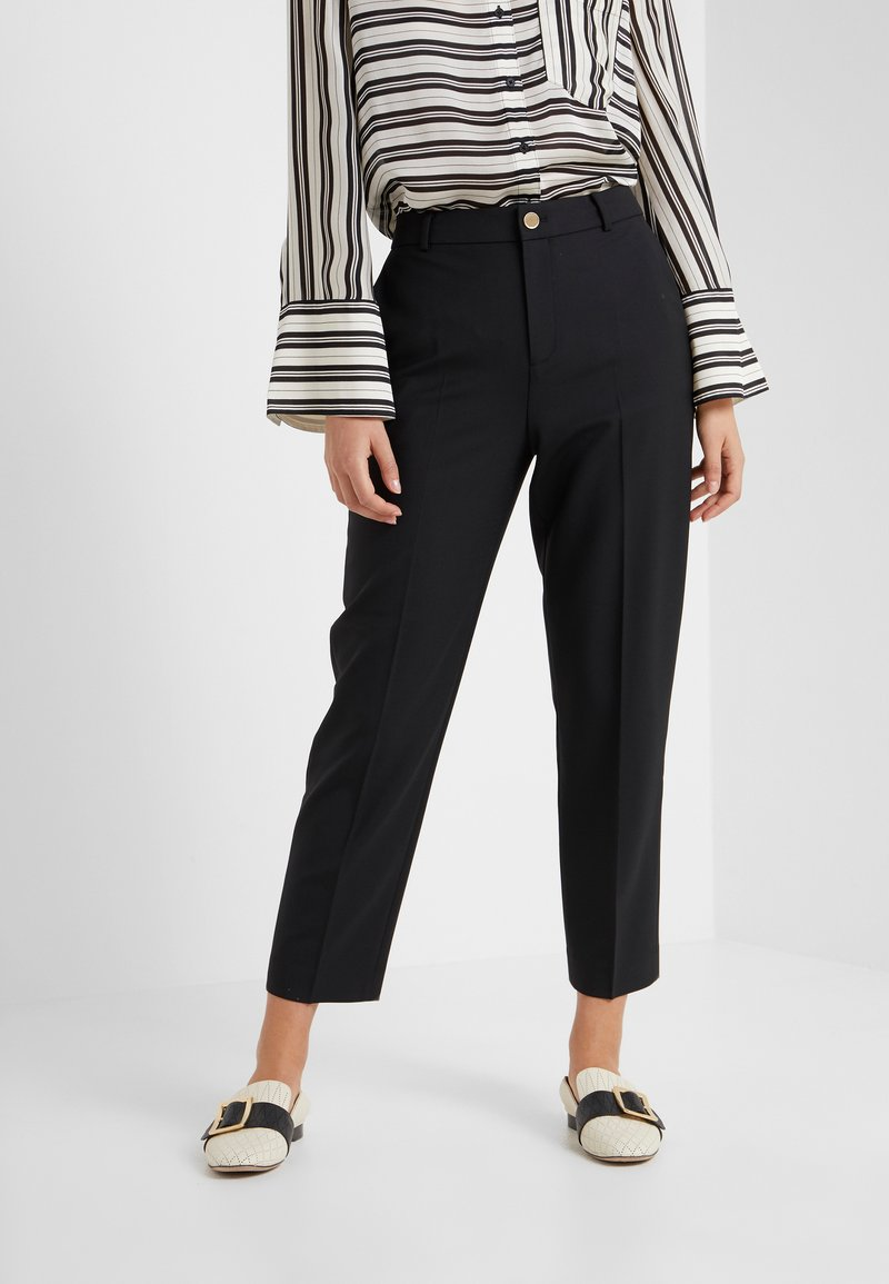 Club Monaco - BORREM PANT - Trousers - black