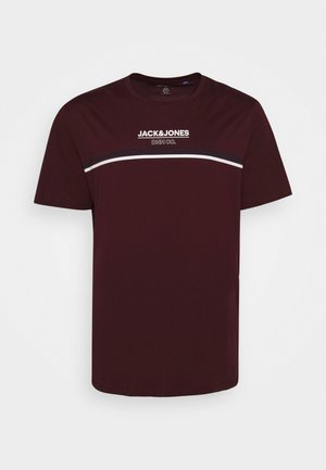 JJSHAKER TEE CREW NECK - Print T-shirt - port royale