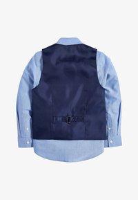 NAVY AEROPLANE WAISTCOAT SET (12MTHS-16YRS) - Suit waistcoat - blue