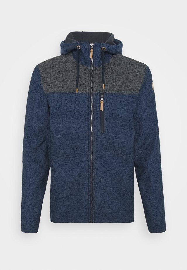 ATHOL - Fleece jacket - dark blue