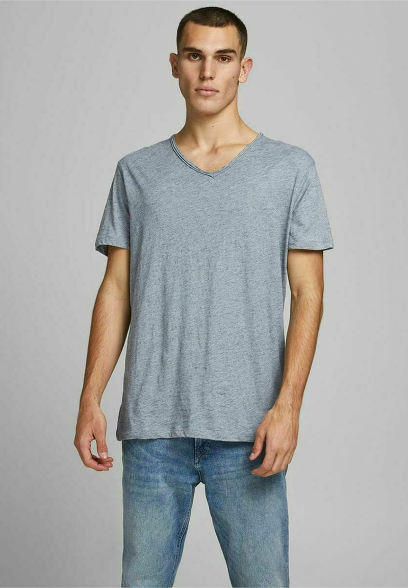 Jack & Jones PREMIUM - Basic T-shirt - dream blue