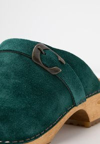 Sanita - HEDI OPEN - Clogs - dark green - 2
