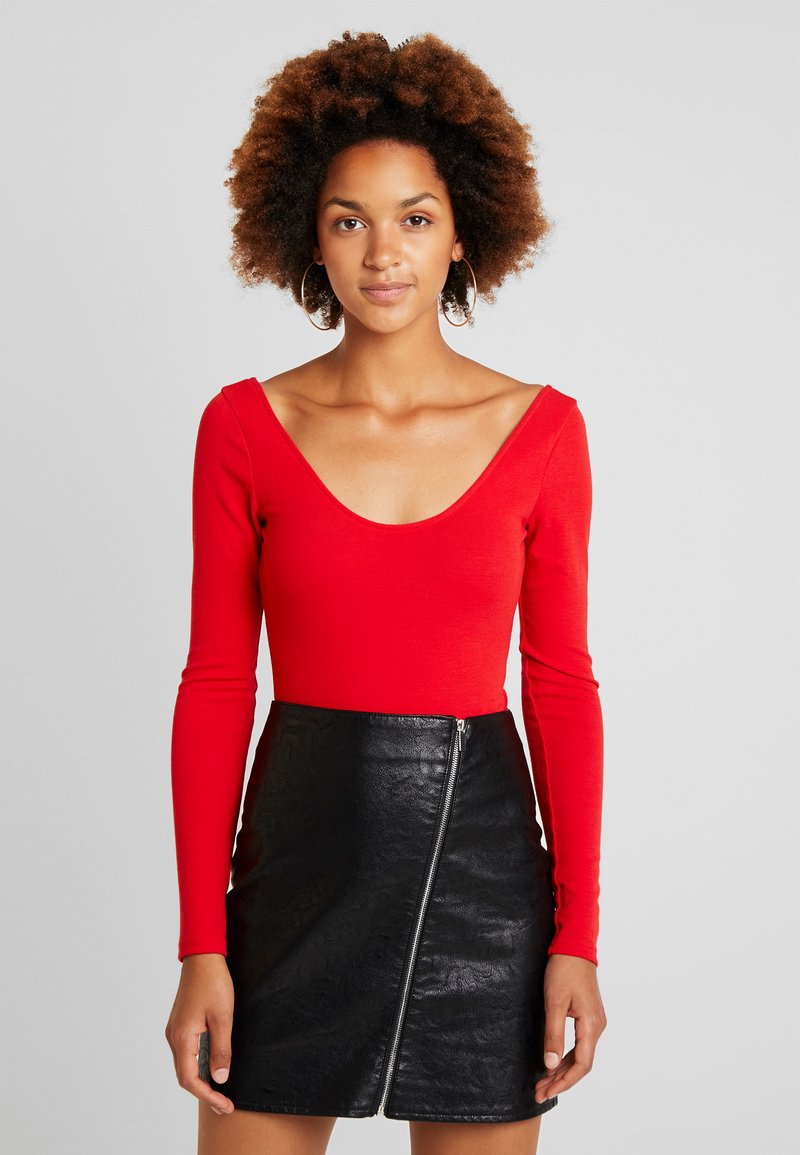 Fashion Union - ZESTY - Long sleeved top - red