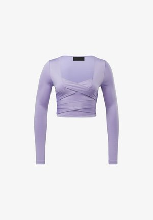 CARDI B  - Long sleeved top - purple