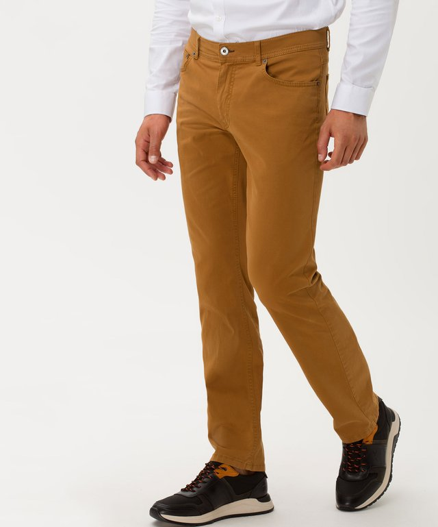 STYLE COOPER FANCY - Jeans Straight Leg - curry