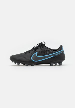 TIEMPO LEGEND 9 PRO AG-PRO - Moulded stud football boots - black/iron grey