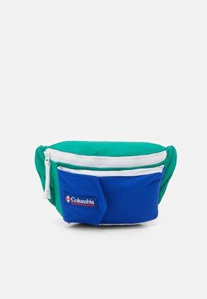 POPO PACK UNISEX - Bum bag - emerald green/lapis blue