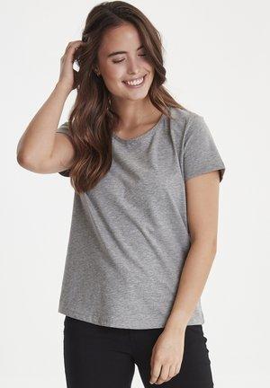 ZAGANIC - T-shirt basic - asphalt melange