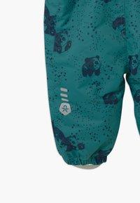 Color Kids - DOTS UNISEX - Snowsuit - dark green/dark blue - 6