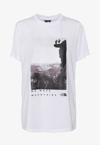 The North Face - WOMAN DAY TEE - T-Shirt print - white - 3