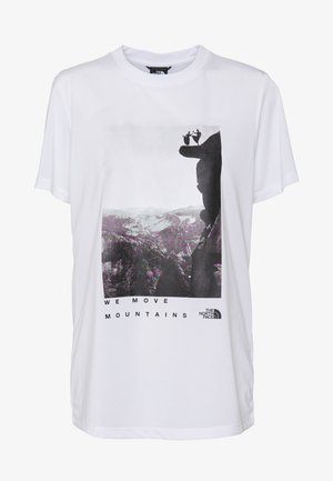 WOMAN DAY TEE - T-Shirt print - white
