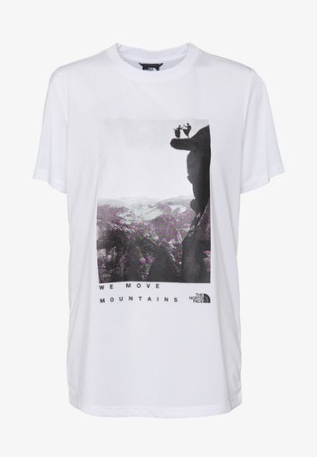 WOMAN DAY TEE - T-shirt med print - white