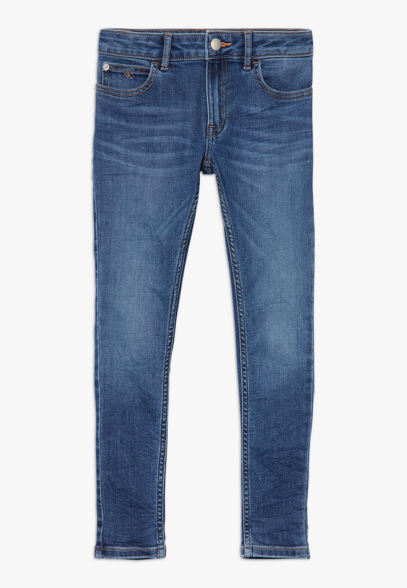 Calvin Klein Jeans - PASS STRETCH - Jeans Skinny Fit - blue