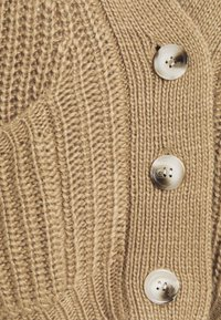4th & Reckless - HENRY - Cardigan - cream/camel - 2