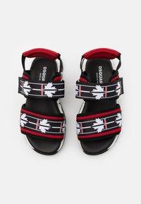 Dsquared2 - UNISEX - Sandals - black/red - 3