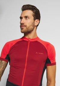 Vaude - ADVANCED FZ - T-Shirt print - carmine - 3