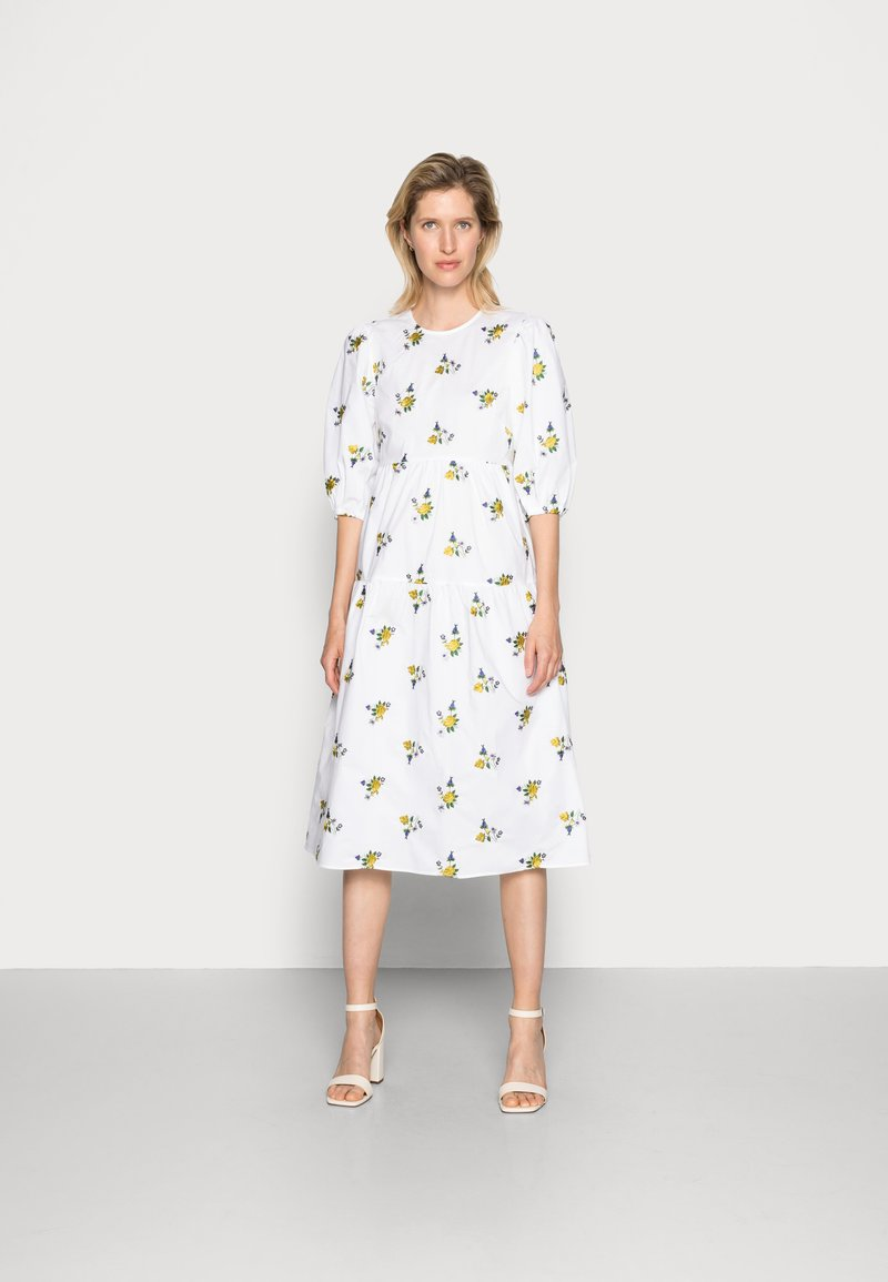 Ghost - ALETTA DRESS - Day dress - floral embroidery