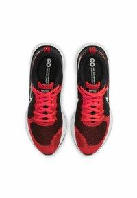 Nike Performance - REACT INFINITY RUN FK 2 - Neutral running shoes - bright crimson black dark smoke grey white - 3