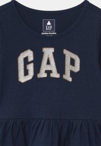 GAP - TODDLER GIRL LOGO - Top sdlouhým rukávem - blue galaxy - 2