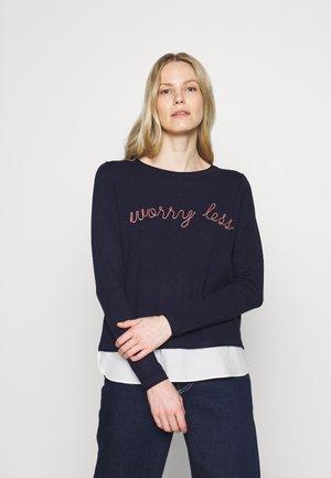 WORRY LESS - Jumper - light blue