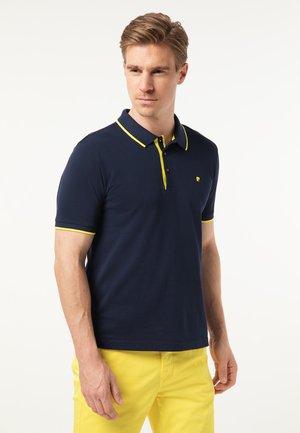 AIRTOUCH 3D PRINT - Polo shirt - navy