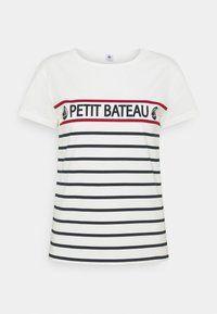 Petit Bateau - TEE - Print T-shirt - marshmallow - 0