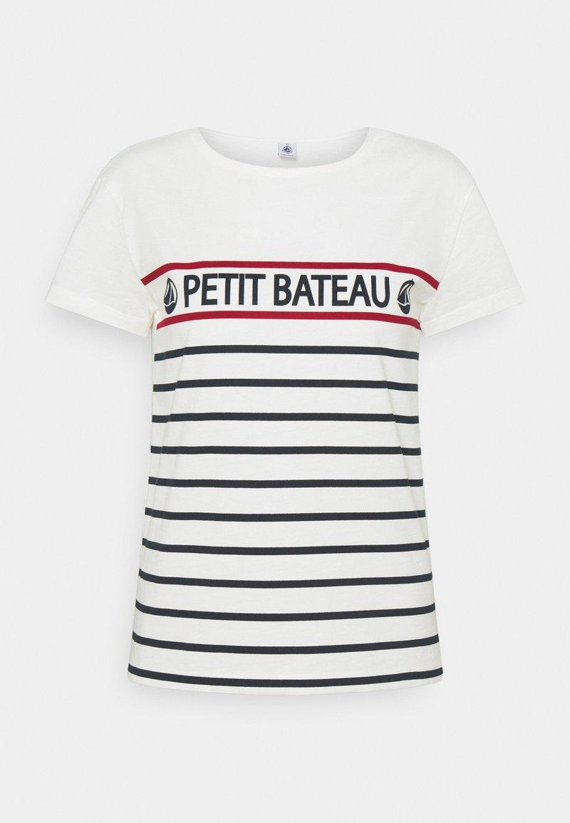 Petit Bateau - TEE - Print T-shirt - marshmallow