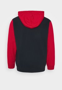 Jack & Jones - JJELOGO BLOCKING HOOD - Hoodie - tango red - 1