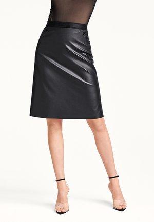ESTELLA - A-line skirt - black