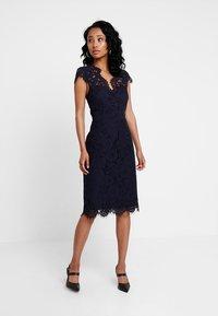 IVY & OAK - DRESS - Koktejlové šaty/ šaty na párty - navy blue - 0