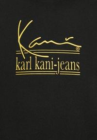 Karl Kani - UNISEX SIGNATURE HOODIE - Felpa aperta - black - 6