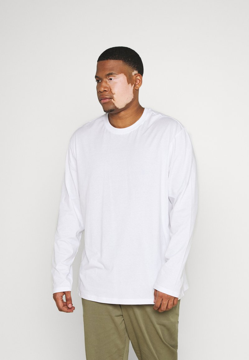 Only & Sons - ONSLUIGI LIFE TEE - Long sleeved top - white