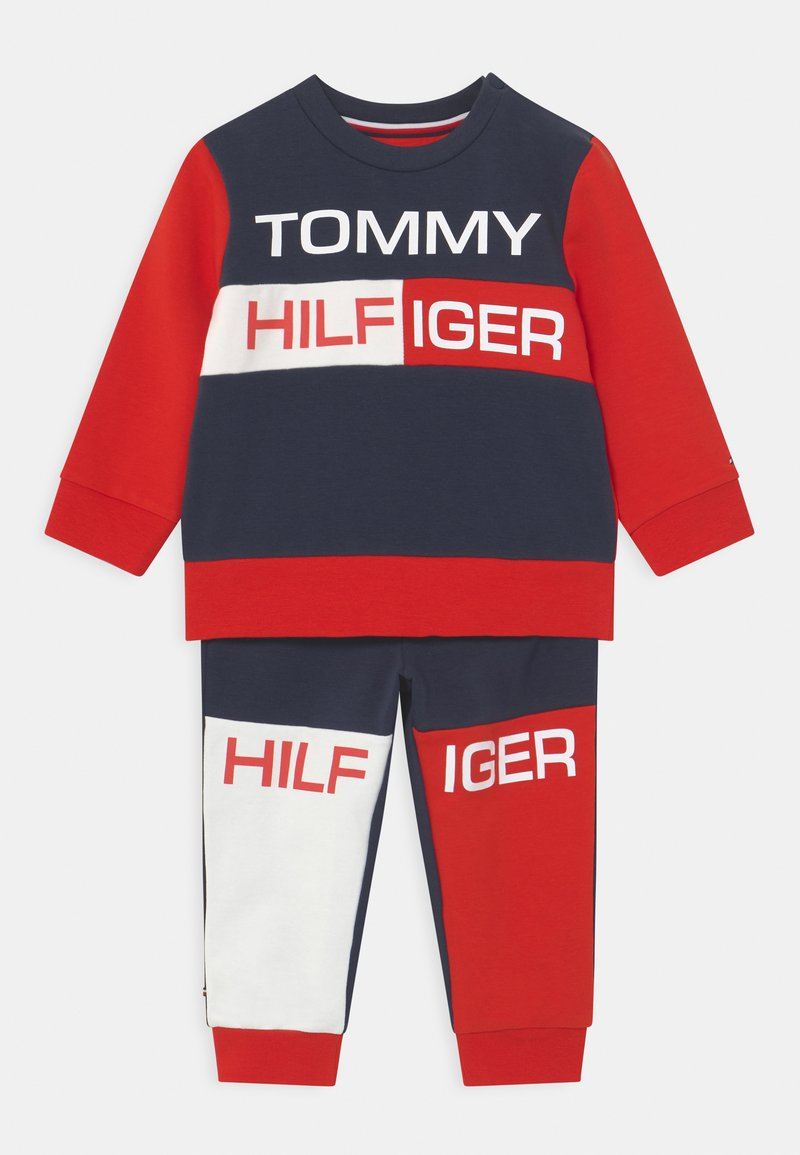 Tommy Hilfiger - BABY COLORBLOCK  - Tracksuit - twilight navy