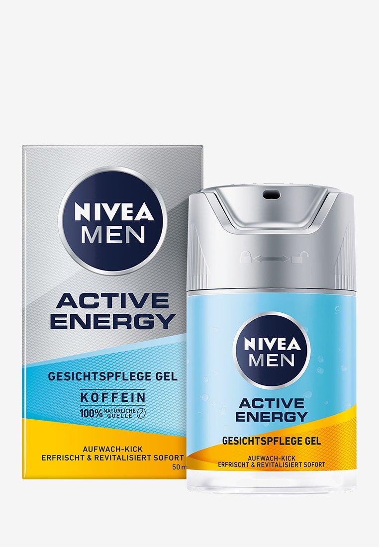 Nivea Men - ACTIVE ENERGY FACE CARE GEL - Pielęgnacja na dzień - -