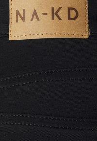 NA-KD Tall - HIGH WAIST  - Jeans Skinny Fit - black - 5