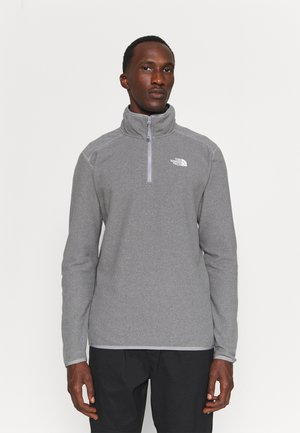 GLACIER 1/4 ZIP  - Fleece jumper - medium grey heather