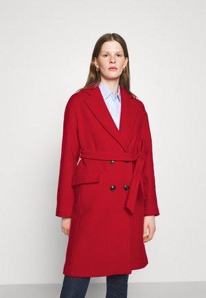 GIACOMINO CAPPOTTO PANNO - Klasický kabát - red