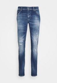 Dondup - BRADY PANT - Slim fit jeans - blue - 5