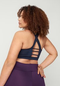 Active by Zizzi - MIT RÜCKENDETAILS - Sports bra - night sky - 2