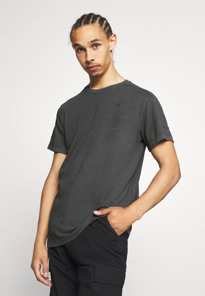 KORPAZ LOGOS GR ROUND SHORT SLEEVE - T-shirt print - light shadow