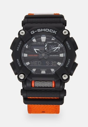 NEW HEAVY DUTY STREET - Chronograph watch - black