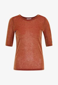 See by Chloé - T-shirt imprimé - misty red - 3