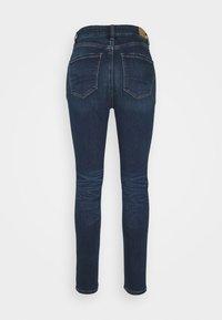 American Eagle - CURVY SUPER HIRISE JEGGING - Jeans slim fit - midnight blue - 1
